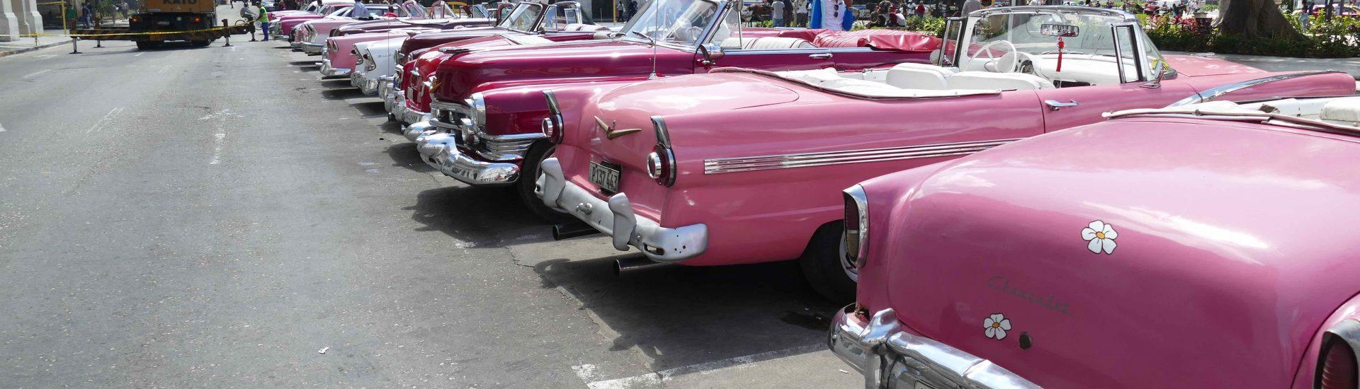 Natürlich bin ich in Kuba durch Havanna mit einem Oldtimer gekurvt. Das ist echtes Havana-Feeling der 60er Jahre.