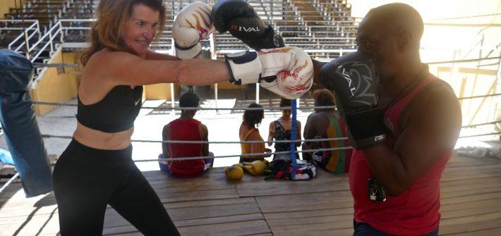 In Kuba, in Havanna konnte ich im Gimnaseo de boxeo Rafael Trejo mit Trainer Nardo Mestre Flores trainieren