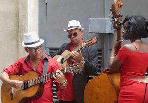 Kubanische Livemusik in Havanna inspirierte Schabel