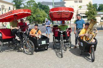 Kritik zu den Potsdamer Fahrradkonzerten www.schabel-kulturblog.de