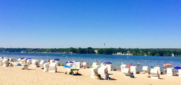 Berlin Strandbad Wannsee präsentiert von www.schabel-kultur-blog.de