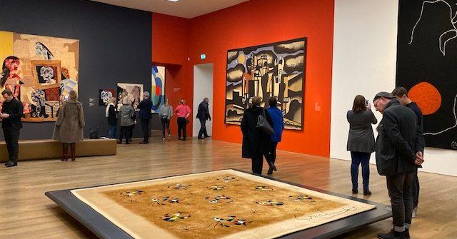 """Ausstellung """"Fäden der Moderne"""" präsentiert von www.schabel-kultur-blog.de"""
