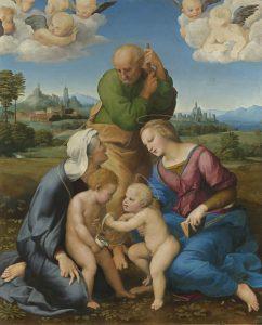 """Ausstellung """"Raffael 1520-2020"""" in der Pinakothek München präsentiert von www.schabel-kultur-blog.de"""