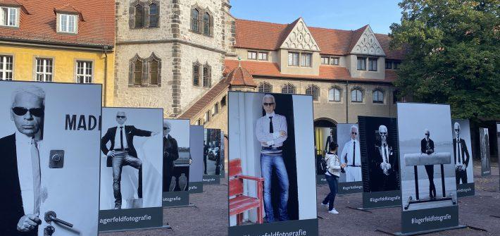 """Ausstellung """"Karl Lagerfeld"""" in Halle präsentiert von www.schabel-kultur-blog.de"""