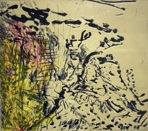 """Ausstellung von """"Monoprints"""" von Per Kirkeby in der Borch Gallery Berlin präsentiert von www.schabel-kultur-blog.de"""