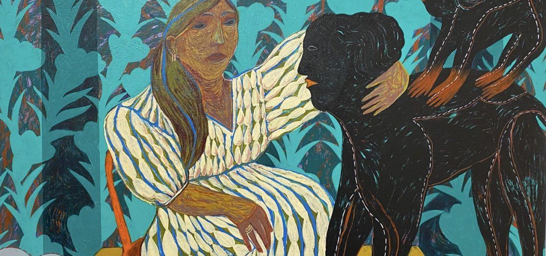 Ausstellung von Susudan Khizanishvili präsentiert von www.schabel-kultur-blog.de