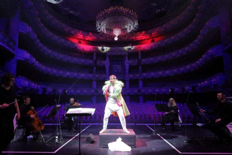 "München Staatsoper ""Eigth Songs for a Mad King"" präsentiert von www.schabel-kulturl-blog.de"