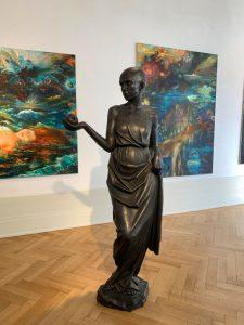 """Galerie Schmalfuss """"Bernd Schwarting + Kristin Kolb"""" präsentiert von www.schabel-kultur-blog.de"""