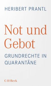 "Buchkritik Heribert Prantl ""Not und Gebot"" präsentiert von www.schabel-kultur-blog.de"