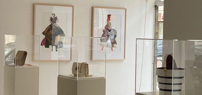 """""""Glamourös"""", Karin von Roques und Frieda Vogel, präsentiert von www.schabel-kultur-blog.de"""