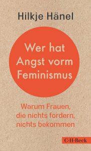 """Hilkje Hänel """"Wer hat Angst vorm Feminismus"""" präsentiert von www.schabel-kultur-blog.de"""
