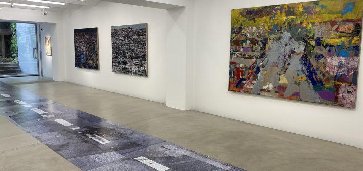 """Ausstellung """"Bilder ohne Namen"""" von Tammam Azzam präsentiert von www.schabel-kultur-blog.de"""