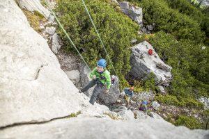 Klettern für die ganze Familie in Saalfelden-Leongang präsentiert von www.schabel-kultur-blog.de