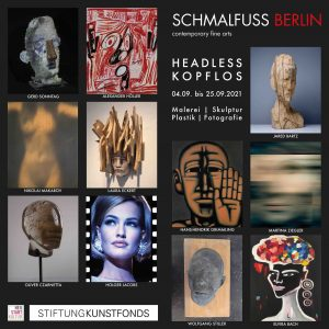 """Ausstellung """"Kopflos"""" präsentiert von www.schabel-kultur-blog.de"""