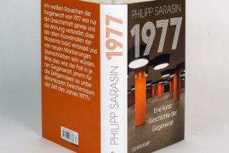 """Buchrezension """"1977"""" von Philipp Sarasin präsentiert von www.schabel-kutlur-blog.de"""